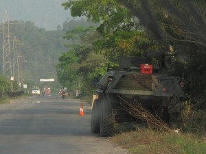 Catatumbo is a highly militarized region. Photo: O.B.